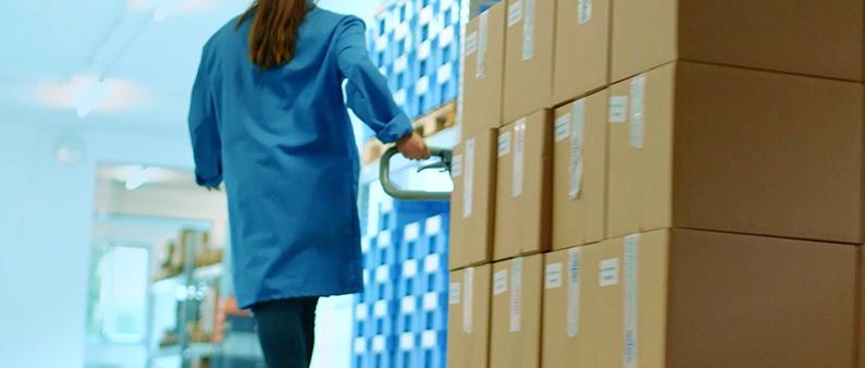 Verpackung und Logistikdienstleistung